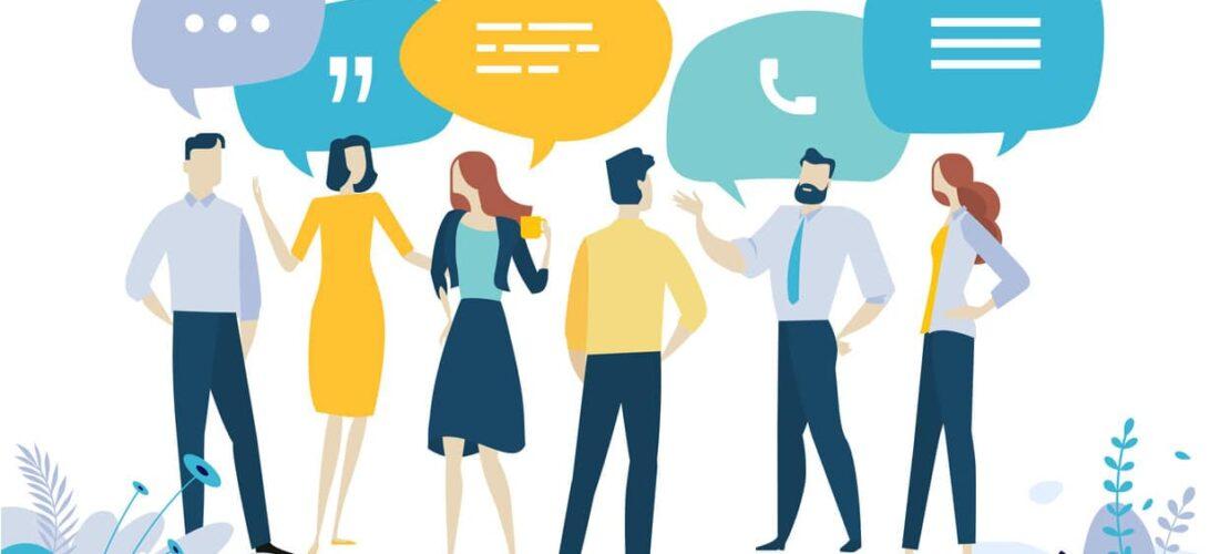 communicating change graphic